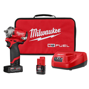 "M12 FUEL 3/8"" Stubby Impact Wrench Kit"