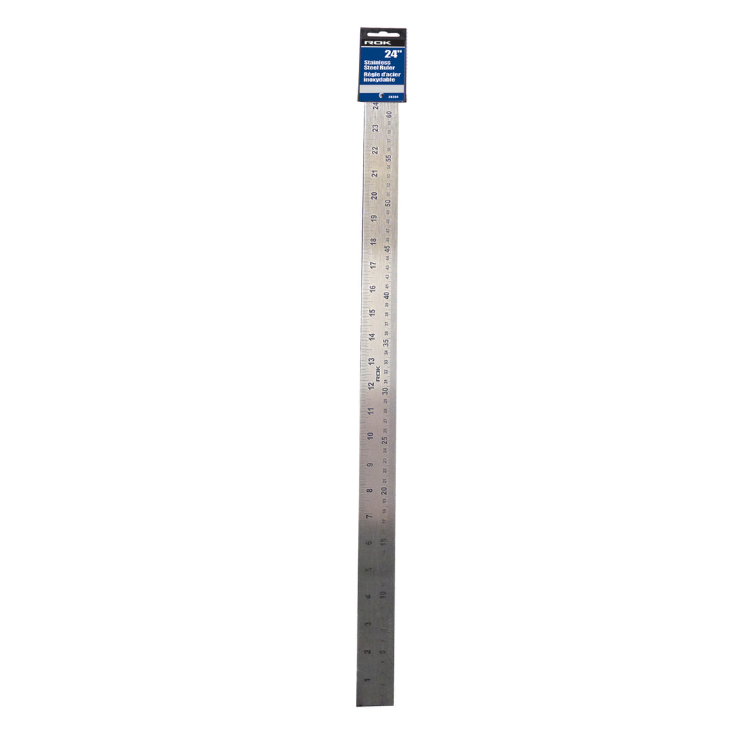 Stainless Steel Ruler 24