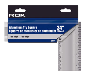 Aluminum Try Square 24""