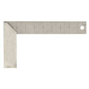 Aluminum Try Square Professional 8""