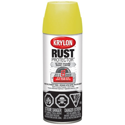 Rust Protector Yellow Gloss Paint 340G