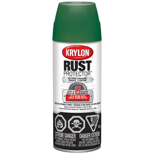 Rust Protector Green Gloss Paint 340G