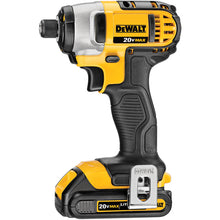 "Load image into Gallery viewer, 20V MAX* Cordless Li-Ion 1/4"" Impact Driver Kit (1.5Ah)"