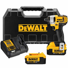 "Load image into Gallery viewer, 20V MAX* Cordless Li-Ion 1/4"" Impact Driver Kit"