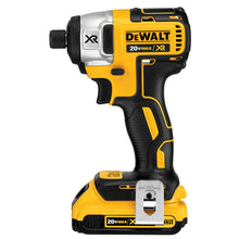 "Load image into Gallery viewer, 20V MAX* XR Cordless Li-Ion Brushless 1/4"" Impact Driver Kit (2.0Ah)"