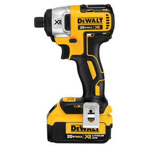 "20V MAX* XR Cordless Li-Ion Brushless 1/4"" Impact Driver Kit (4.0Ah)"
