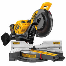 "Load image into Gallery viewer, FLEXVOLT™ 12"" 120V* MAX* Double Bevel Compound Mitre Saw Kit"