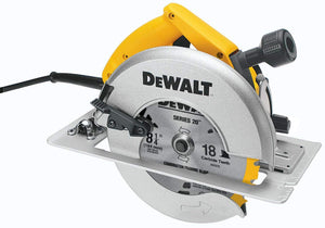 "8-1/4"" Circular Saw w/ Rear Pivot Depth of Cut Adjustment and Electric Brake"