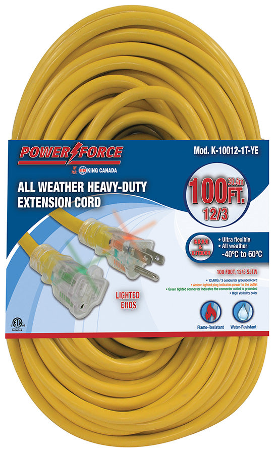 100 Feet Single Tap Extension Cord