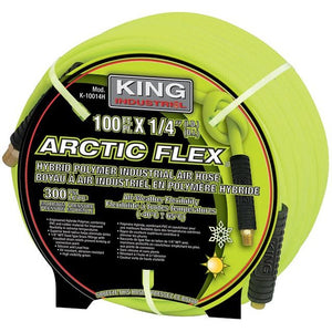 "100 Feet X 1/4"" Hybrid Polymer Industrial Air Hose"