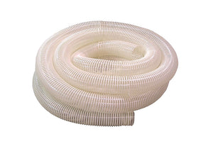 "4"" Clear Flexible Collapsable PVC Hose"