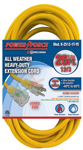 25 Feet Single Tap Extension Cord