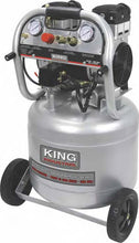 Load image into Gallery viewer, 10 Gallon Ultra Quiet Oil Free Air Compressor