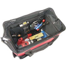"Load image into Gallery viewer, 18"" Rolling Tote Tool Bag"