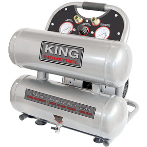 2HP Ultra-Quiet Oil-Free Air Compressor