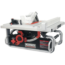 "Load image into Gallery viewer, 10"" Portable Worksite Table Saw"