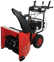 "Load image into Gallery viewer, 24"" 2-stage Gasoline Snow Blower w/ Electric Start"