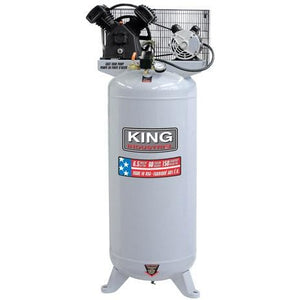 Stationary 6.5 Peak HP 60 Gallon Air Compressor