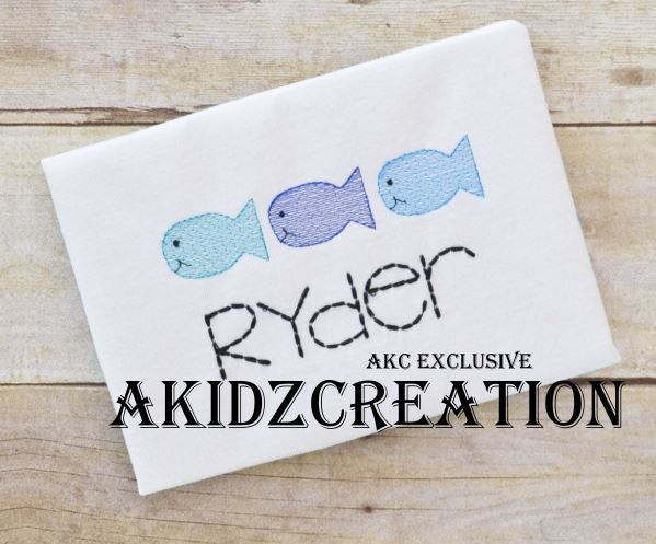 fish embroidery, nautical embroidery, akidzcreation, sketch fish embroidery, fish design, fish embroidery design, sketch fish embroidery design, sketch fish trio embroidery design, fish trio embroidery design, sketch fish embroidery design, nautical embroidery design, animal embroidery design
