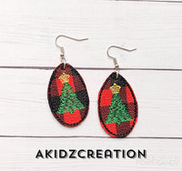ITH Christmas Tree Mini Earrings