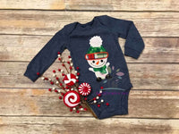 Snowman Applique Design