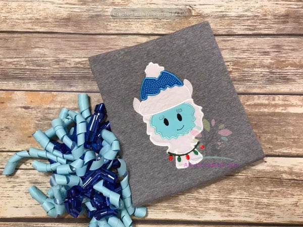 Yeti Applique Design
