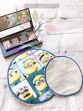 ith makeup remover pad, akidzcreation, ith embroidery, machine embroidery, in the hoop embroidery