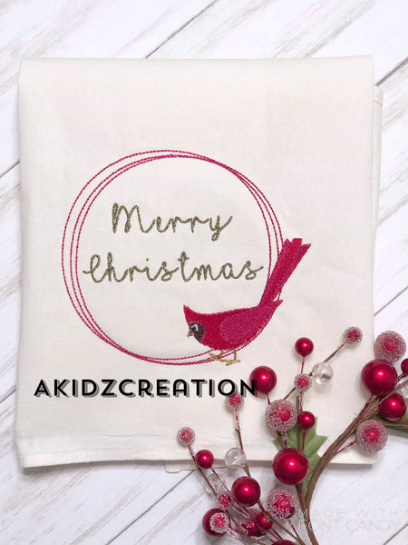 cardinal embroidery design, christmas embroidery design, christmas cardinal embroidery frame embroidery design, monogram embroidery design, christmas embroidery design