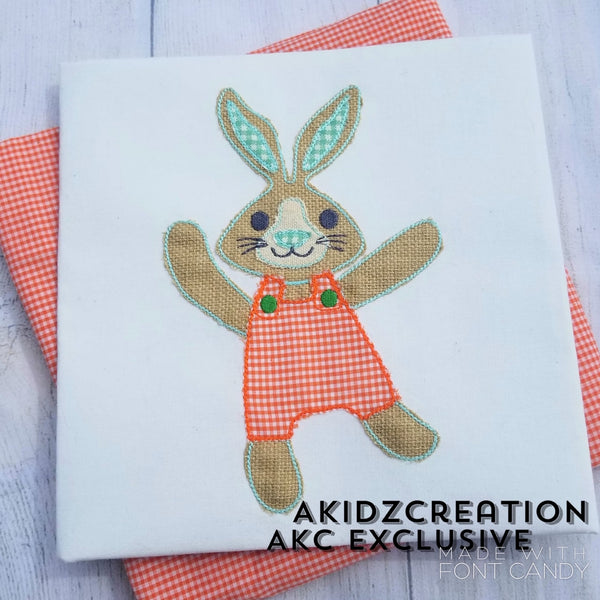 corduroy bunny embroidery design, bunny embroidery design, rabbit embroidery design, easter embroidery design, spring embroidery design