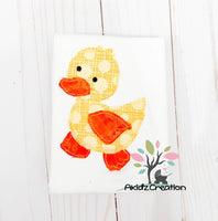 duck applique, applique, machine embroidery duck applique, rubber duck applique, rubber duck embroidery design, machine embroidery duck design, mallard duck embroidery design, duck embroidery design