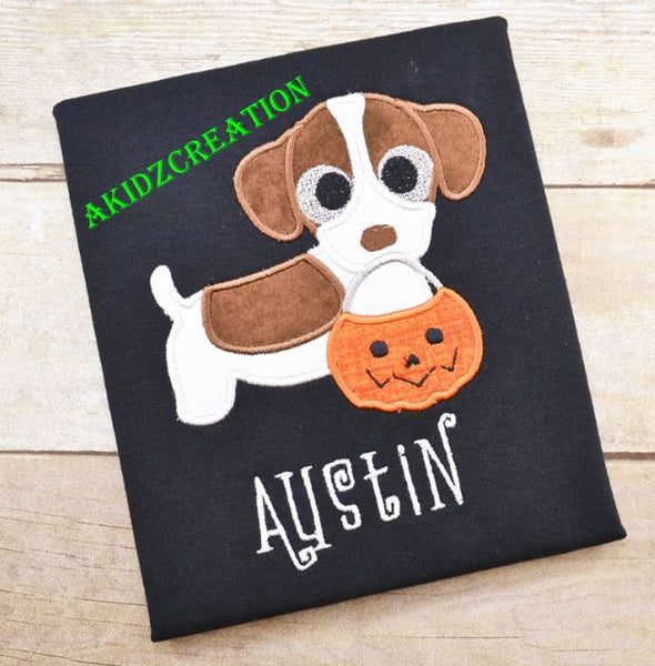halloween jack russell terrier embroidery design, jack Russell embroidery design, jack Russell terrier embroidery design, halloween dog embroidery design, halloween embroidery design, puppy embroidery, dog embroidery