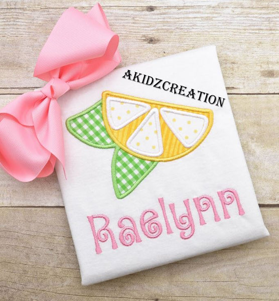 lemon slice embroidery design, lemon embroidery design, fruit embroidery, food embroidery design, girl lemon embroidery design,akidzcreation