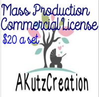 Mass Production License Per Set