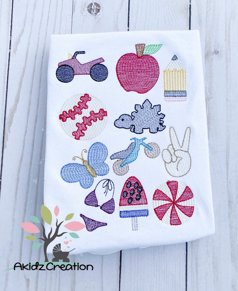mini embroidery bundle, sketch embroidery, sketch atv embroidery design, sketch apple embroidery design, sketch pencil embroidery design, sketch baseball embroidery design, sketch dinosaur embroidery design, sketch butterfly embroidery design, sketch dirt bike embroidery design, sketch peace out hand embroidery design, sketch bathing suit embroidery design, sketch watermelon pop embroidery design, sketch peppermint embroidery design, mini embroidery design, sketch mini embroidery designs