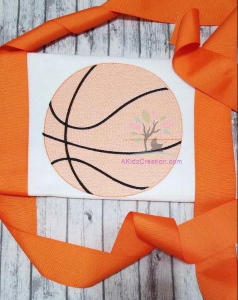 sketch design, sketch basketball embroidery, embroidery design, machine embroidery, akidzcreation