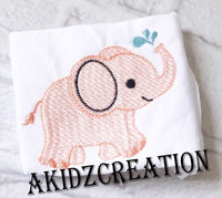 sketch embroidery design, sketch elephant embroidery design, sketch elephant with water embroidery design, animal embroidery design