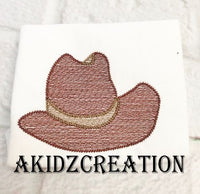 sketch cowboy hat embroidery design, hat embroidery design, sketch cowboy hat embroidery design, sketch hat embroidery design, sketch design, sketch embroidery, machine embroidery design,