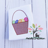 easter egg embroidery design, easter egg basket, basket embroidery, akidzcreation, easter embroidery design, machine embroidery easter design, machine embroidery easter egg basket design, machine embroidery easter basket design