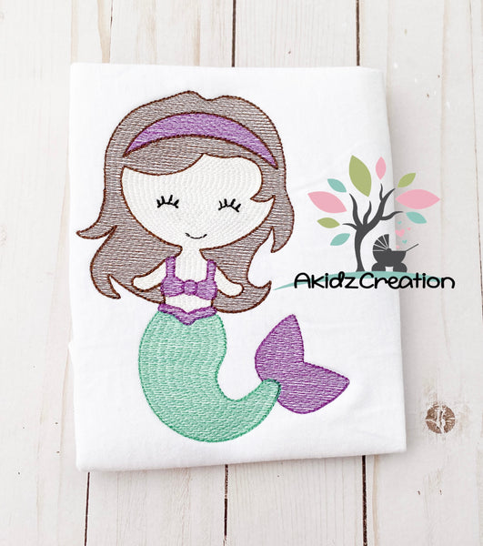 mermaid embroidery design, sketch mermaid embroidery design, nautical embroidery design, sketch machine embroidery design, machine embroidery design, mermaid embroidery design, sketch mermaid, sketch nautical design