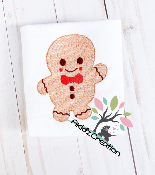 gingerbread boy embroidery design, gingerbread embroidery design, Christmas embroidery design, winter embroidery design, food embroidery design, cookie embroidery design , christmas embroidery design, sketch gingerbread design, sketch gingerbread embroidery design