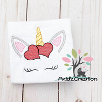 sketch heart unicorn embroidery design, heart embroidery design, sketch unicorn embroidery design, sketch heart design, valentines embroidery design, sketch heart unicorn, sketch valentine unicorn embroidery design