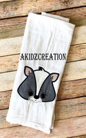 skunk embroidery design, skunk embroidery applique, applique, woodland animal embroidery design