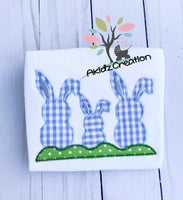 bunny family, embroidery, embroidery design, machine embroidery, easter embroidery, rabbit embroidery design, bunny embroidery design, easter embroidery design, animal embroidery design