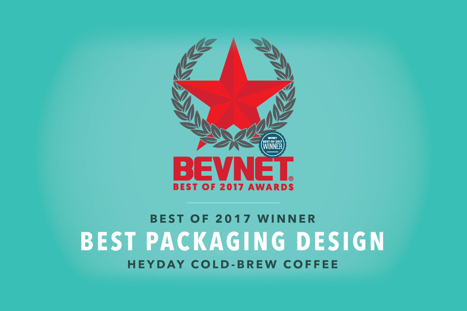 HEYDAY Receives Best Packaging Design Award