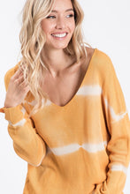 Load image into Gallery viewer, Blurred Lines Tunic Sweater
