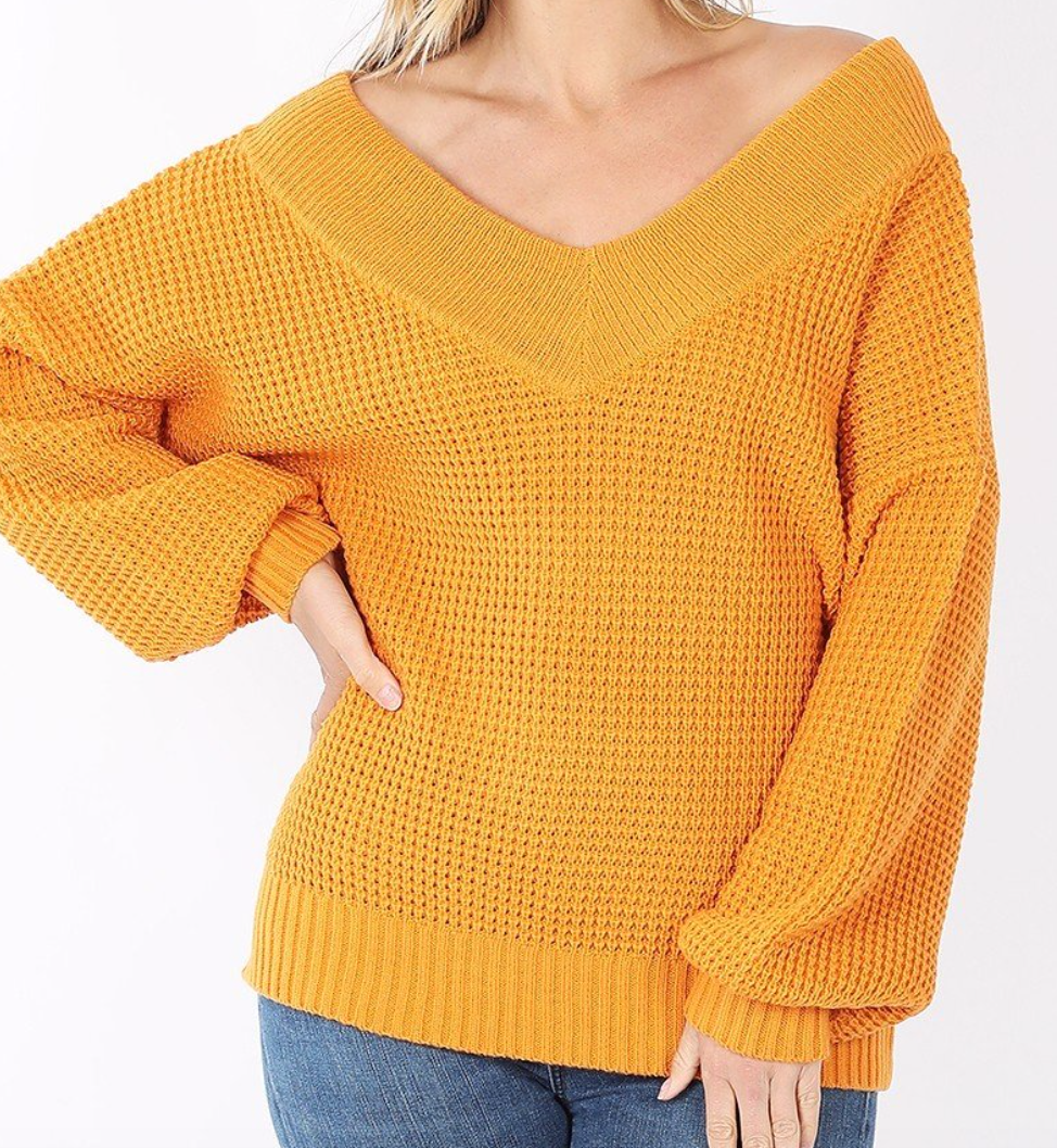 Signature Look Sweater Marigold