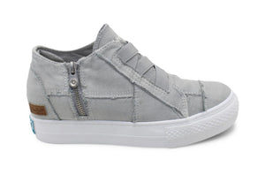 Gray Wedge Sneaker