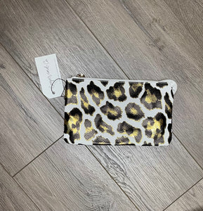 Dexter 3 in 1 Clutch Crossbody {metallic leopard}