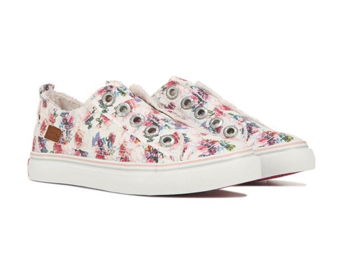 Youth Bright Floral Sneaker