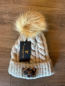 LV Inspired Hat